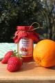 Erdbeer Orangen Konfitüre, 245 Gramm